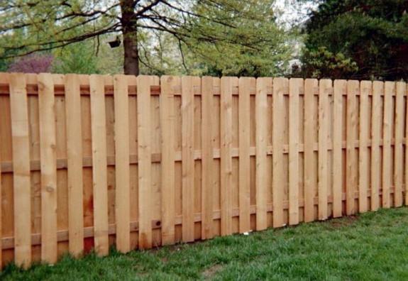 shadowbox wood fence savannah