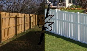 wood vs vinyl fence