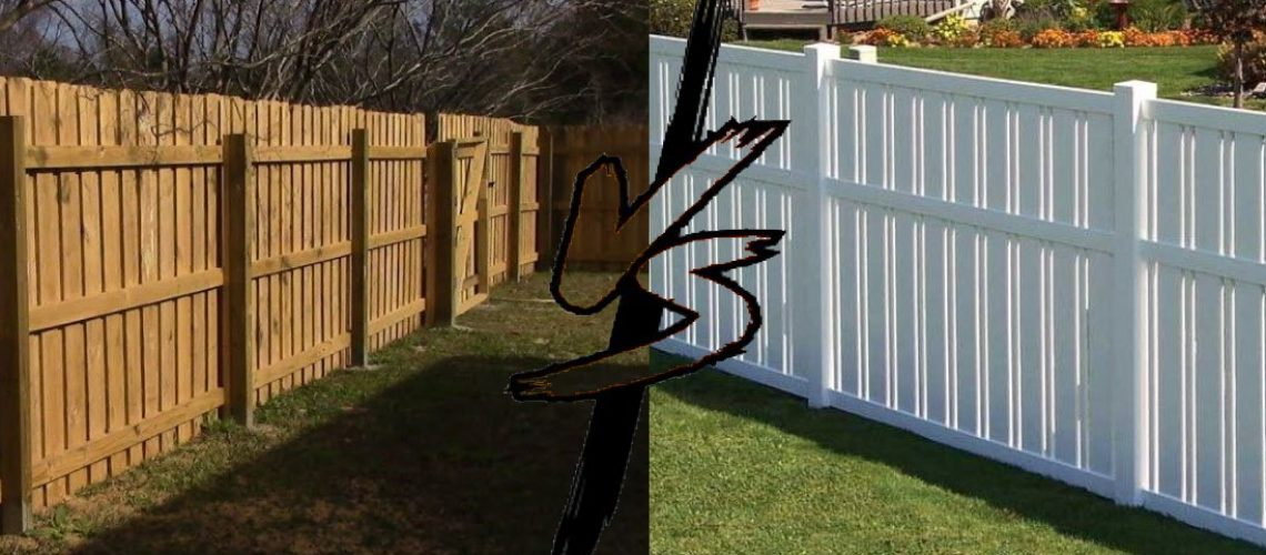 wood vs vinyl fence